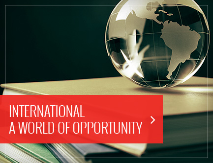 International  A World of Opportunity