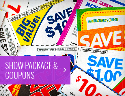 Show Package &  Coupons