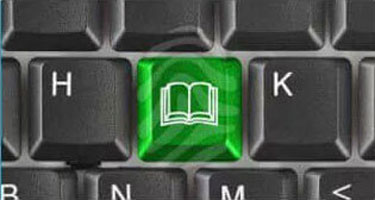 computer-keyboard-with-book-key-book-icon