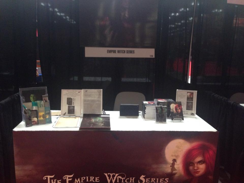 My booth at this year's NY Comic Con